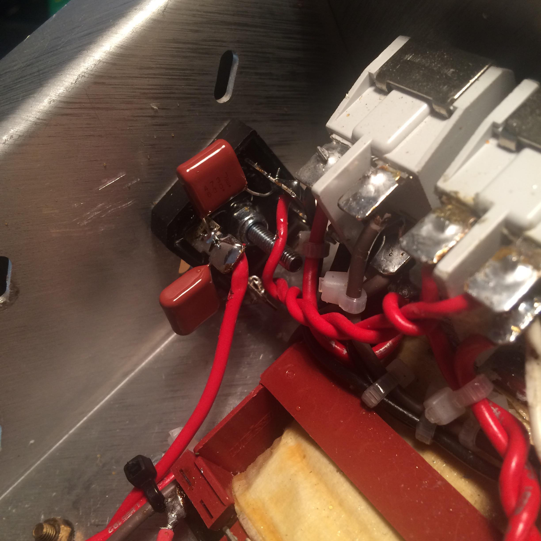 Homemade Hot Rod Plexi Part 3 Snubber Caps Marshall Wiring Diagram Marshal 1920x960